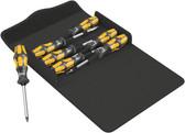 WERA 05137811001 Kraftform 900/7 Set 1 Screwdriver set, textile box