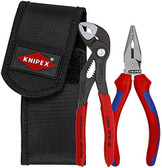 Knipex 00 20 70 V06 Mini Pliers Set with Pouch
