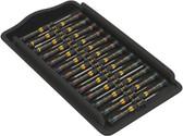 WERA 05134019001 Kraftform ESD Micro Big Pack 1 Screwdriver set for electronic applications