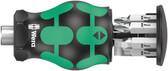 WERA 05008878001 Kraftform Kompakt Stubby Magazine 5 Bitholding screwdriver with magazine