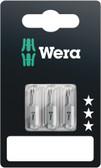 WERA 05073050001 840/1 Z Hex-Plus 2,0 x 25 mm SB Bit for hex socket screws