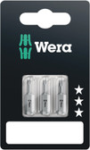 WERA 05073051001 840/1 Z Hex-Plus 2,5 x 25 mm SB Bit for hex socket screws