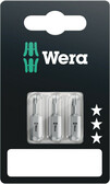 WERA 05073054001 840/1 Z Hex-Plus 5,0 x 25 mm SB Bit for hex socket screws
