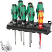 WERA 05138711001 Kraftform / 7 Heavy Metal 1 Screwdriver set