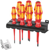 WERA 05138712001 Kraftform VDE / 7 Heavy Metal 2 Screwdriver set