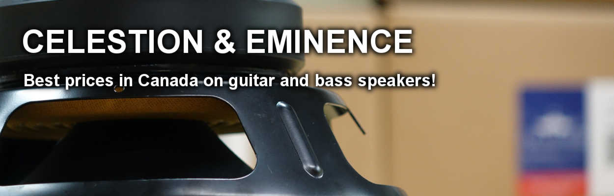 Canada's Best Selection of Guitar Speakers