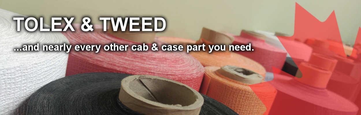 Tolex, Tweed, and Cab Parts