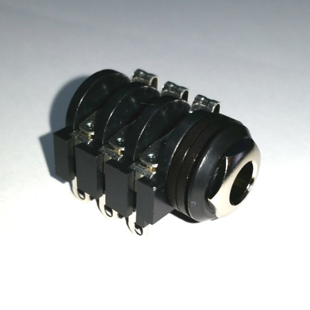 "Generic - 1/4"" Stereo Switching Jack (6 lug; solder)"