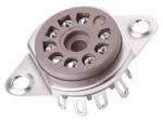 Belton - 9 Pin Mini Tube Socket (solder)
