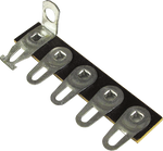 Terminal Strip - 5 Lug, 5th Lug Common, Horizontal
