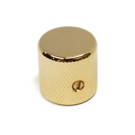 Barrel Knob for Split Shaft - Gold