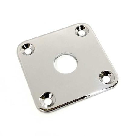 Jack Plate - Square Chrome