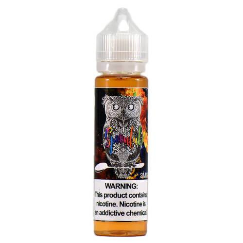 eJuice - Spoonfull by Skull & Roses Juice Co. 60ml. Fruity & loopy cereal.