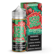 This classic vape juice flavor features an excellent strawberry flavor profile that is paired with a hard candy shell that is filled with a gooey center. Try this premium eliquid flavor today and see why people go om nom nom on Stranomenon. 120ML