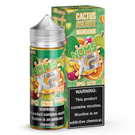 A heavy juicy vape that has great flavor and cloud production. Cactus mixing with the savory jackfruit finished off with the citrus of mandarin orange. Crazy, but incredibly delicious 120ML