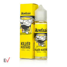 When it comes to rich, creamy Vanilla Custard e-liquids, you will be searching for a lifetime to match the award-winning flavor of Killer Kustard by Vapetasia. As one of the smoothest, purest Vanilla Custards on the planet, each hit will have you instantly coming back for more. Killer Kustard isn't just an e-liquid that you put in your tank, and it's a legitimate lifestyle choice