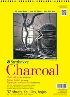 Strathmore Charcoal Pad Coil 9x12