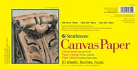 Strathmore Canvas Paper Pad 10 sheets 12x16