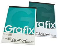 Clear Lay Sheets 25pk 14x17