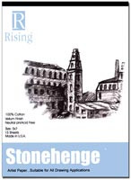 Stonehenge Pad 100% Cotton Paper 11x14