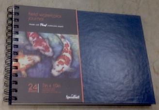 "Speedball Field Watercolour Journal 7x10"" Coil Hard Cover"