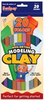 EZ Shape Modelling Clay 20pk Sticks
