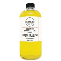 Gamblin Linseed Oil Refined 32oz