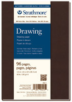 Strathmore Drawing Journal 8x10 Soft Cover Cream Pages