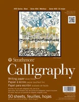 Strathmore Calligraphy Pad 8.5x11