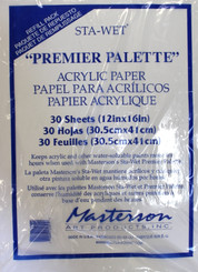 Mastersons Sta-Wet Paper 30pk Refill 12x16