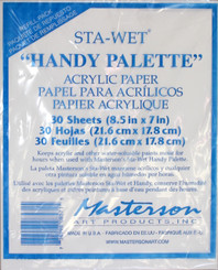 Mastersons Sta-Wet Paper for Handy Palette 30pk