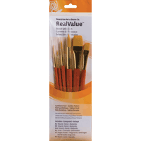 Princeton Brush Sets Gold Taklon 6pk