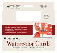 Strathmore Watercolour Cards & Envelopes 10pk