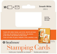 Strathmore Stamping Cards & Envelopes Smooth 10pk