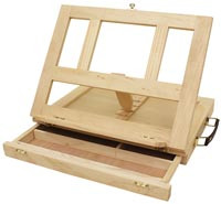 Easel Table Top with Drawer