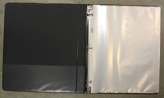 Sublime Refillable Portfolio 8.5x11 Binder Style