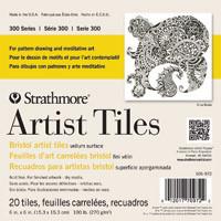Strathmore Artist Tiles White 6x6 100lb
