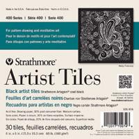 Strathmore Artist Tiles Black 6x6