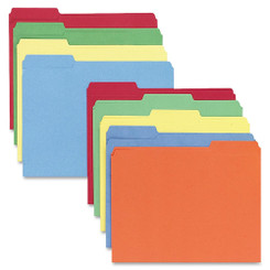 File Folders 10pk Rainbow Colours