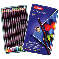 Derwent Pencil Crayons 12pk