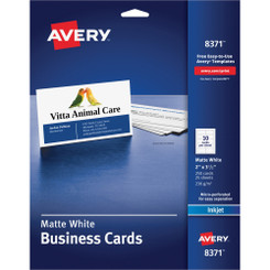 Avery Business Cards 10/sheet