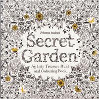 Colouring Book Secret Garden