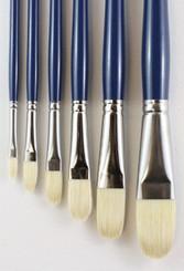 HJ Acryloil Natural Bristle Brush #10 Filbert