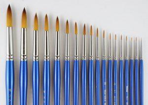 HJ Golden Sable Brush Round #0