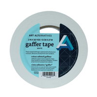 Gaffer's Tape Roll White 1""