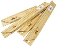 "Stretcher Bars 3/4"" profile each 30"""