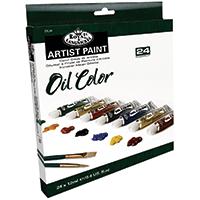 Royal Oil Paint Set  24 colours