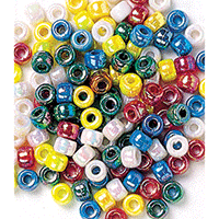 Pony Beads Metallic 500pk