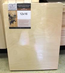 "Wood Panel 1.5"" profile 8x10"