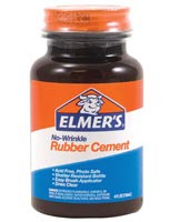 Elmer's Rubber Cement 4oz